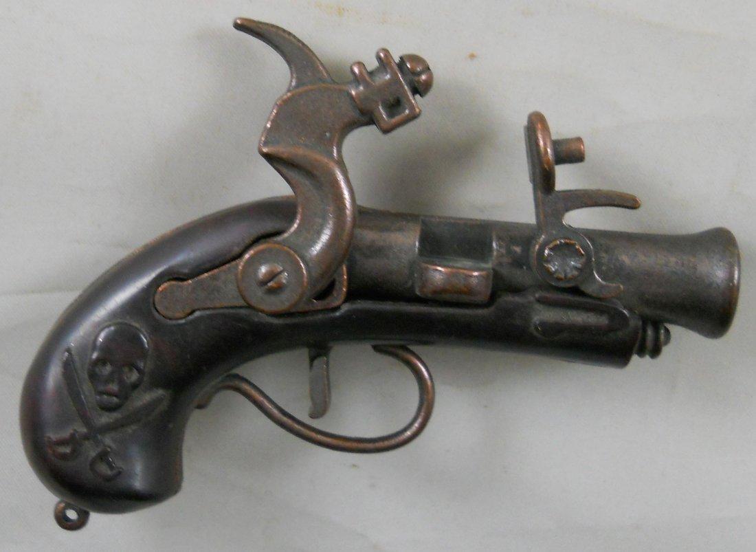 "Vintage REDONDO ""Pirate"" Flintlock Cap Gun. 3.5""L - 3"