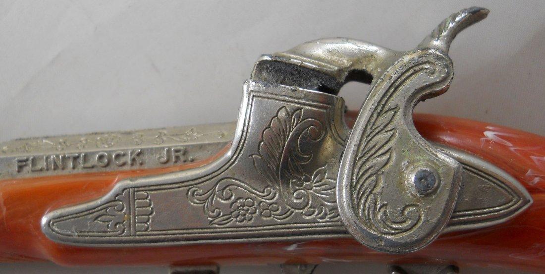 """HUBLEY """"Flintlock Jr."""" Toy Cap Gun - 4"""