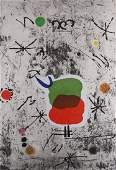Joan Miro - Personatges I Estels: Plate 1