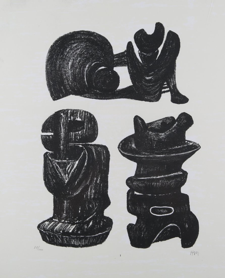 Henry Moore - Three Structural Forms