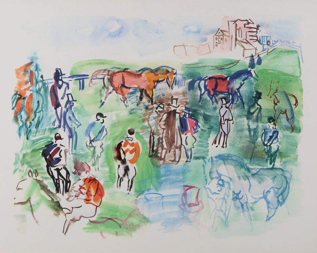 Jean Dufy - 'Epsom'