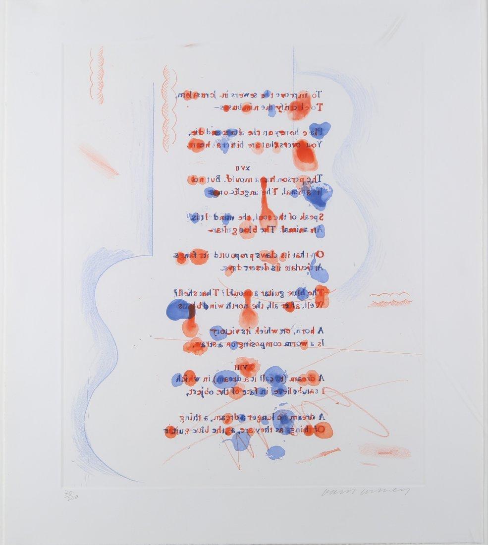 David Hockney - 'The Blue Guitar'