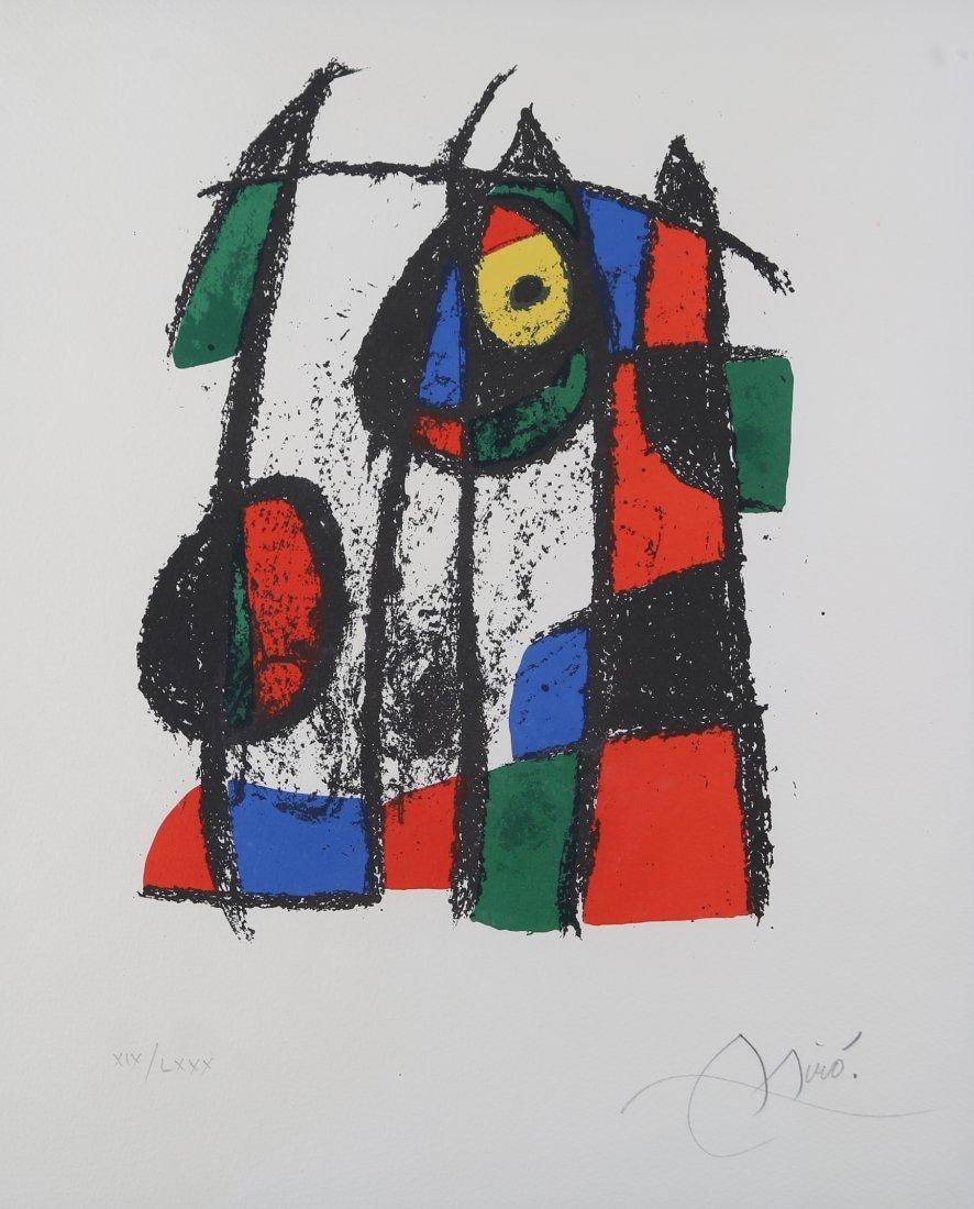 Joan Miro - Lithograph 1043