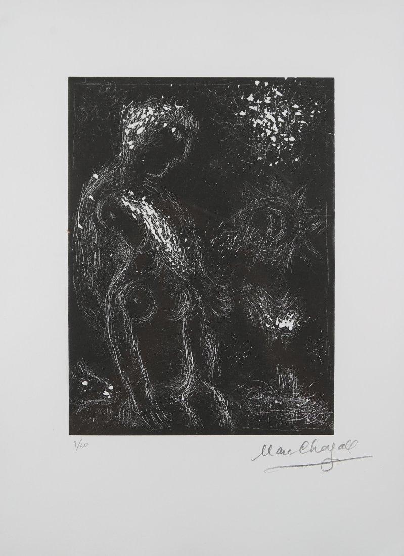 Marc Chagall - Ton odeur dans ma main s'est endormie.