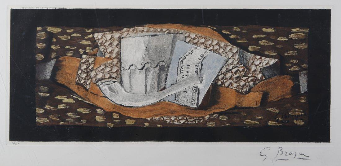 Georges Braque - Nature Morte a La Pipe