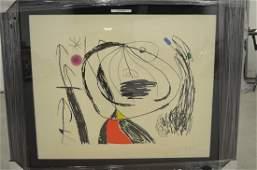 Joan Miro. Series Mallorca #615.