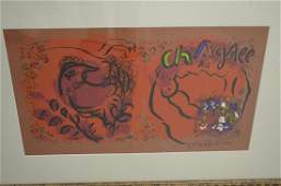 Marc Chagall Lithographs of Chagall Vol 1 1960