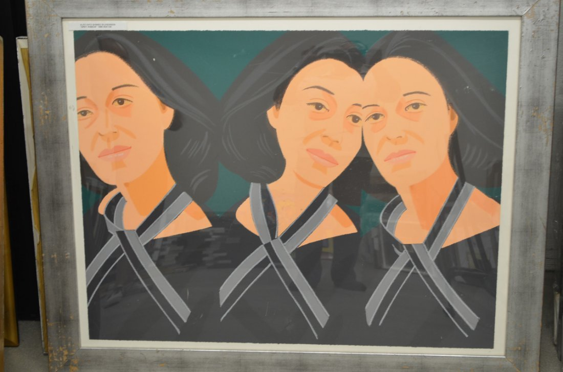 Alex Katz. Grey Ribbon