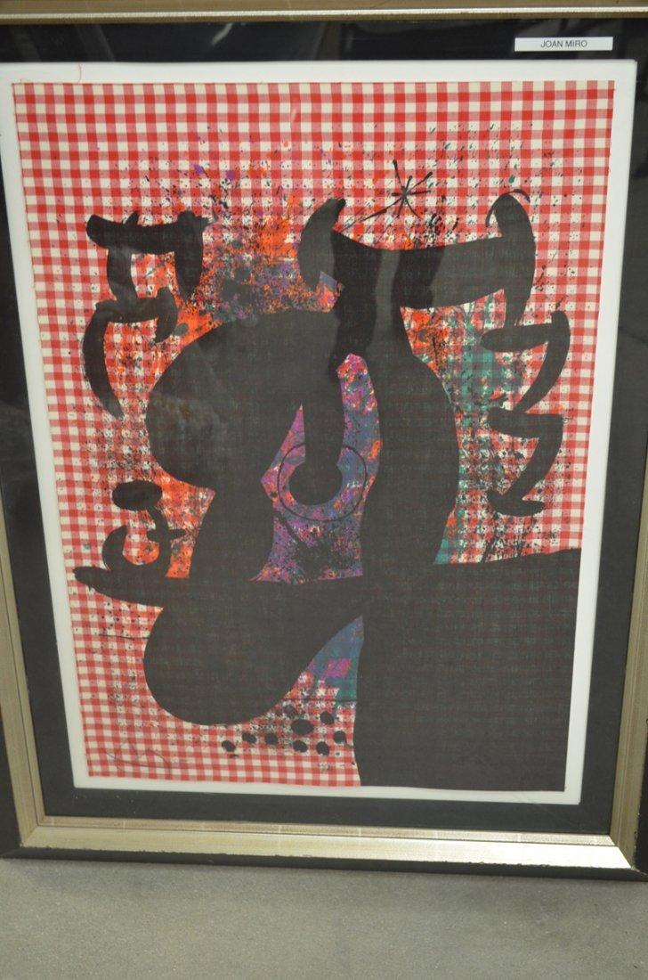 Joan Miro. The Bather