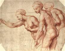 The Three Graces,The Madonna and Sleeping Child