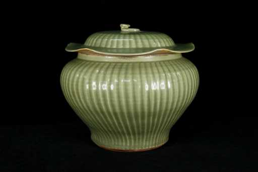 Rare Ming Dynasty Longquan Kiln Celadon Guan