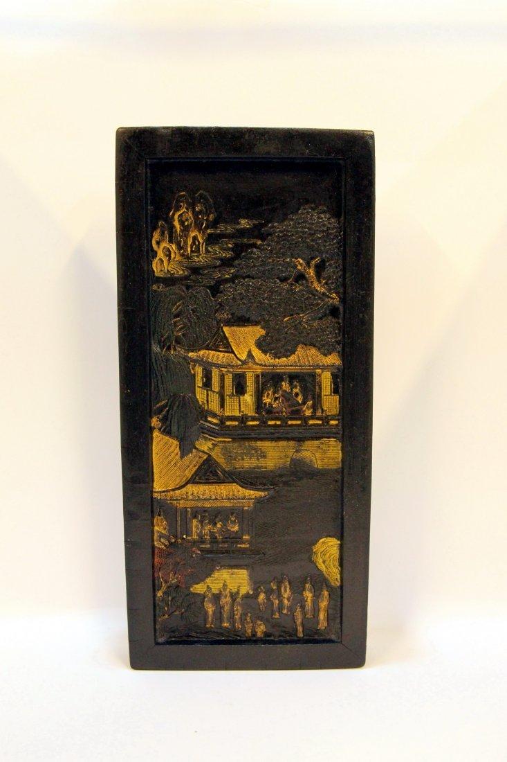 Cheng Junfang Partial Gild Ink Stick