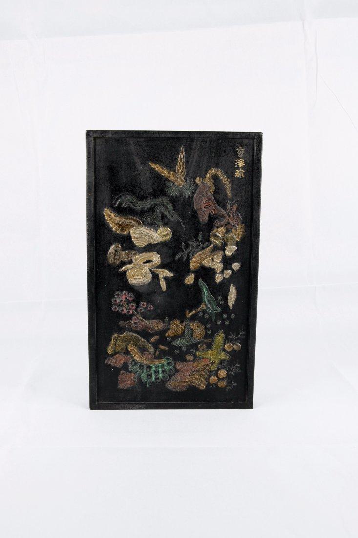 Wang Jiean Partial Gild Ink Block