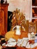 1: Liliane Klapisch (b.1933) Original Oil PAINTING