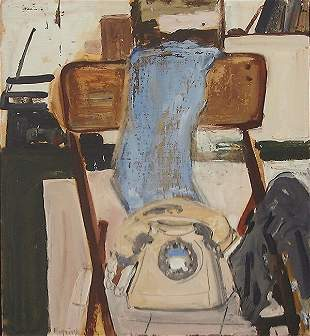 Liliane Klapisch (b.1933) Original Oil PAINTING