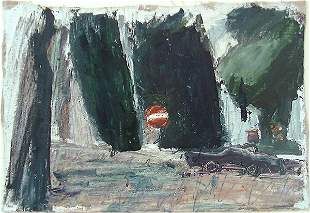 Alex Kremer (b.1966) Original Oil PAINTING