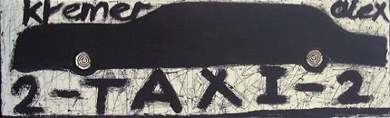 11: Alex Kremer (b.1966) Original Oil PAINTING