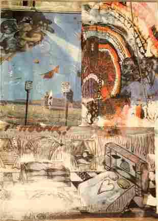 Robert Rauschenberg (b.1925) ORIGINAL Print