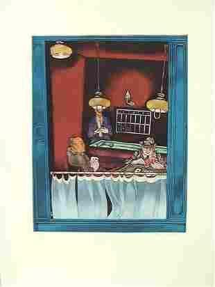 Moreno Pincas (b. 1936) Original S&N ETCHING