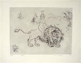 Mordecai Moreh (b.1937) Original S&N ETCHING
