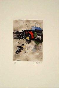 58: Mordecai Ardon (1896-1992) Original S&N ETCHING