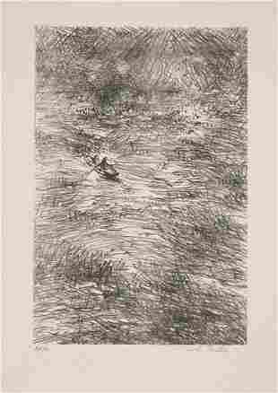 Anna Ticho (1894-1980) Original S&N LITHOGRAPH