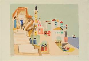Nahum Gutman (1898-1980) Original S&N SILKSCREEN