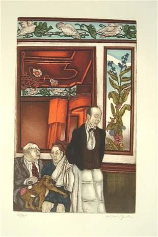 Moreno Pincas (b.1936) Original S&N ETCHING