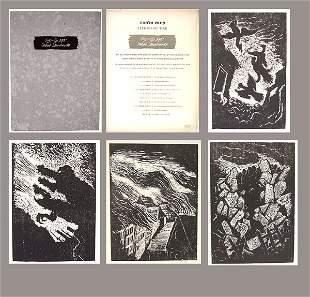 Jacob Steinhardt (1887-1968) 10 Original WOODCUTS