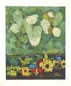 87: Mordecai Ardon (1896-1992) Original S&N SILKSCREEN