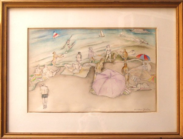 1500: Moreno Pincas Original Pastel Painting