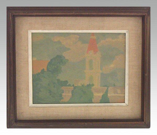 1502: Wachash Raphel Original Oil Painting