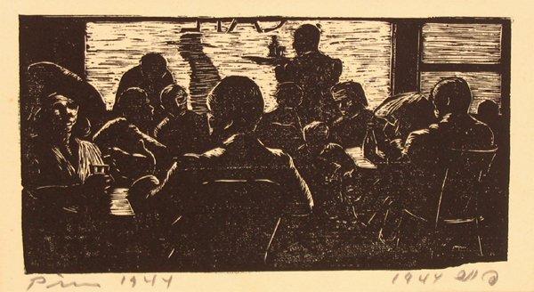 1513: Jacob Pins Original Woodcut