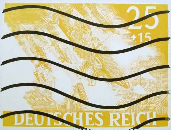 1515: Otto Herbert Hajek Original Signed and No. Silksc