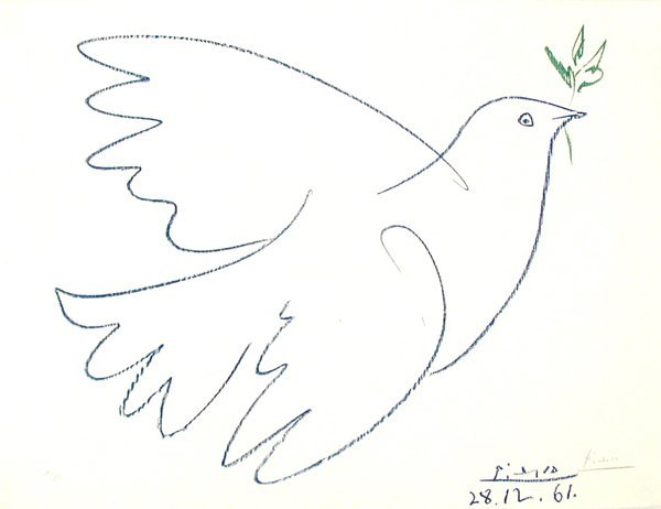 1539: After Pablo Picasso Signed No. offset Lithograph