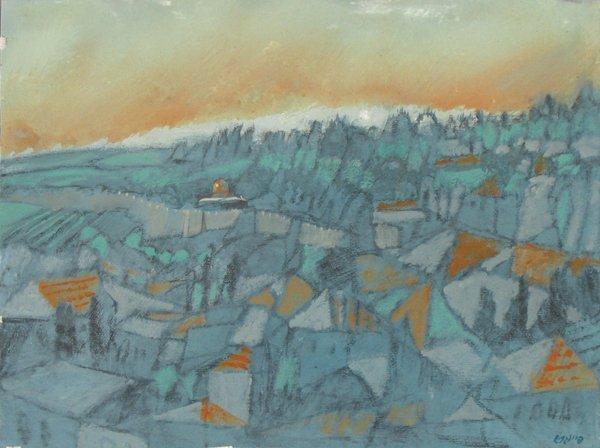 2515: Oded Feingersh Original Oil Painting