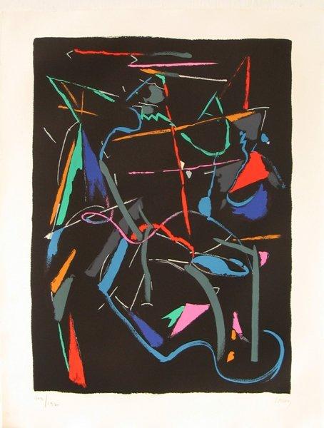 4503: Andre Lanskoy Original Signed No. Lithograph