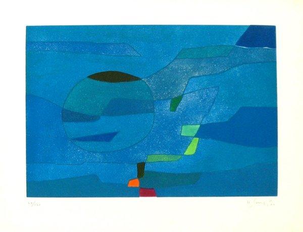 4515: Gustave Singier Original Signed No. Etching