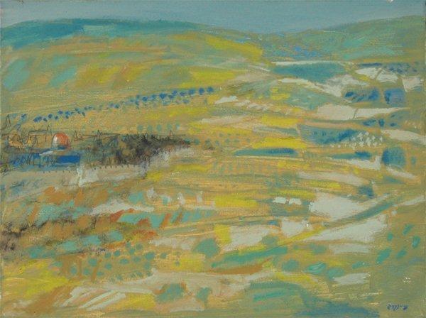 4517: Oded Feingersh Original Oil Painting