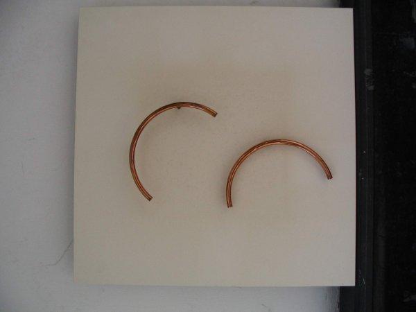 4571: Yaacov Agam Early Rare KINETIC Art Copper Plated