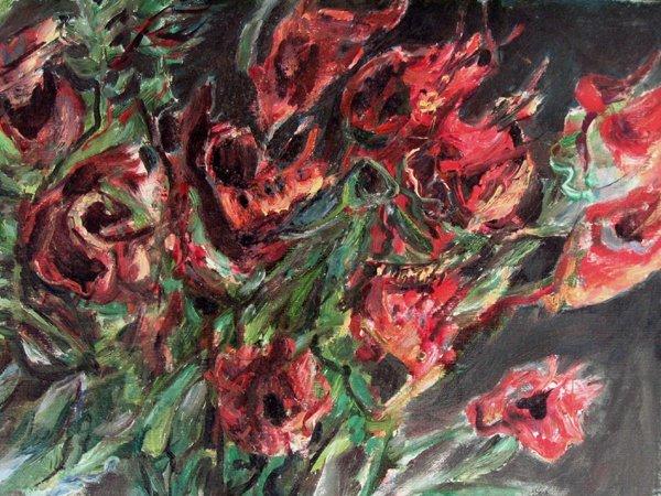 1709: Yosl Bergner Original Oil Painting