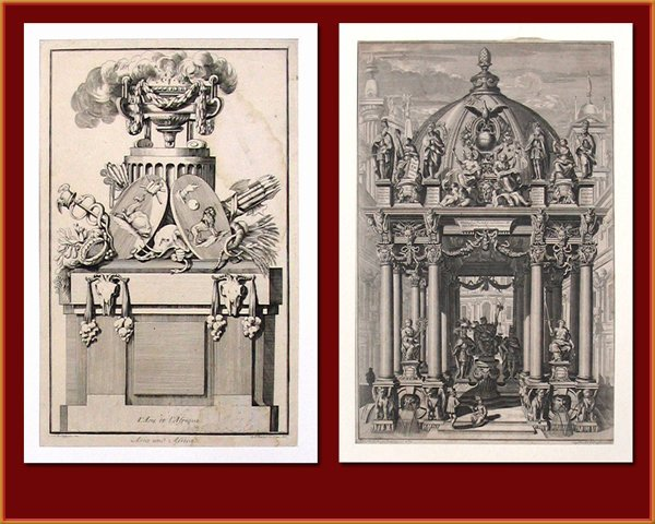 2702: Two Antique Engravings, Late 19th Century