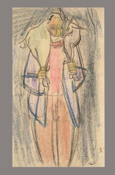 2706: Sigmund Landau Original Drawing