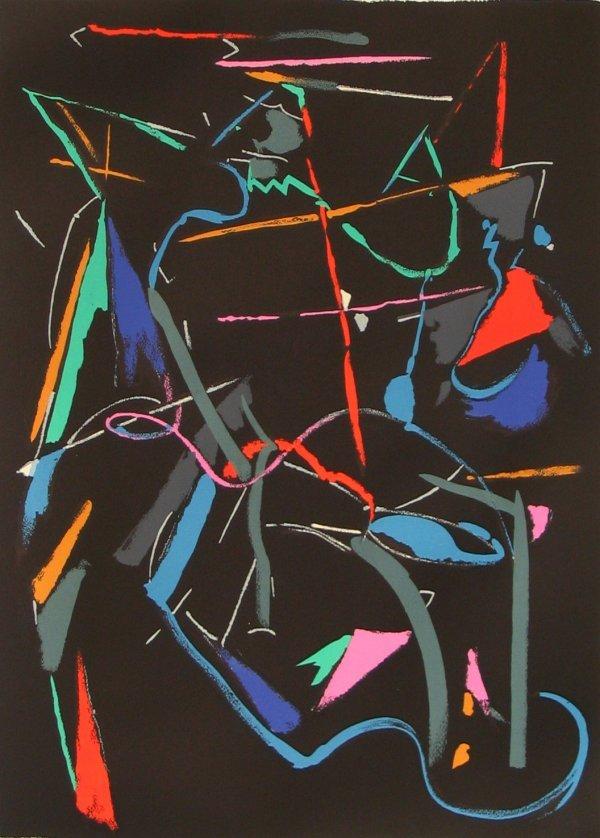 2723: Andre Lanskoy Original Signed No. Lithograph