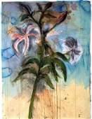 2819: Jim Dine Original Signed and No. Hand-Colored Pri