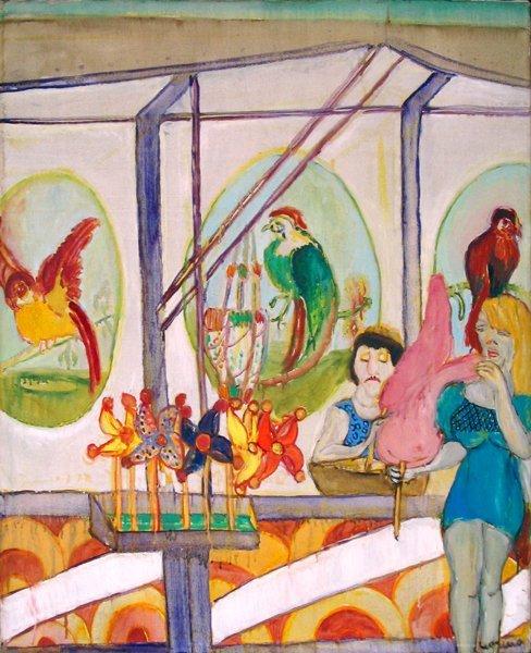 4308: Moreno Pincas Original painting, French Art