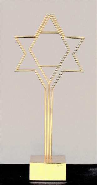 Yaacov Agam Original SCULPTURE Kinetic Israeli art