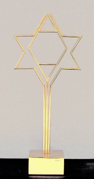 603: Yaacov Agam Original SCULPTURE Kinetic Israeli art