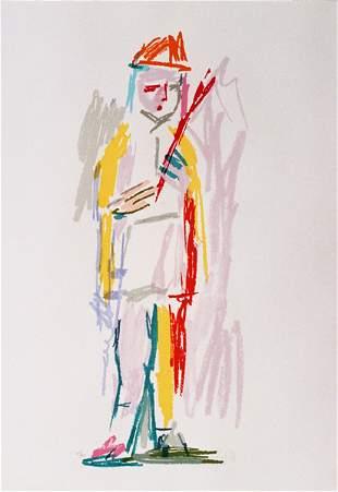 Pincas Litvinovsky S&N SILKSCREEN Israeli Art