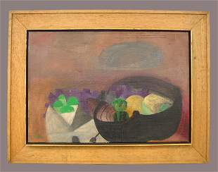 Naftali Bezem Original PAINTING Israeli Jewish Art